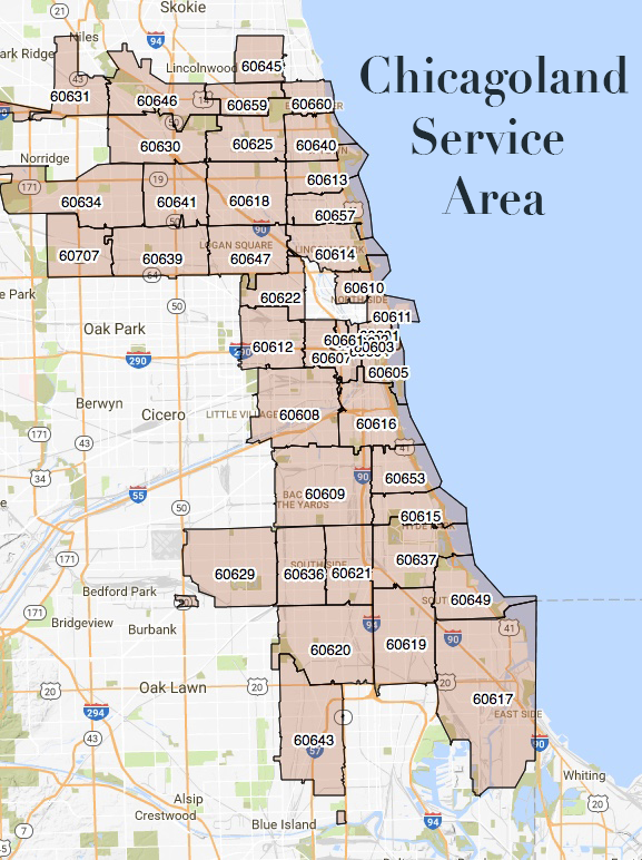 chicago commercial refrigeration service_area
