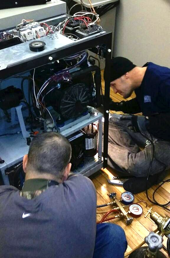 Cascade refrigeration system repairs in Chicago